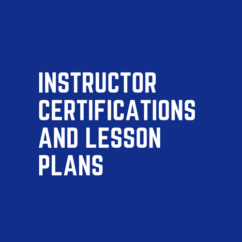 Instructor Certifications