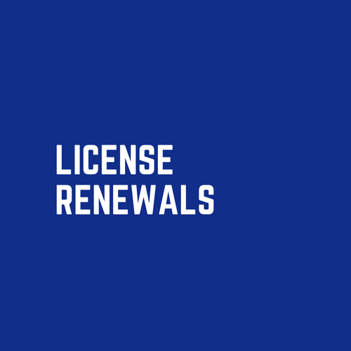 License Renewals